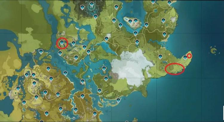Where to farm Pinecones in Genshin Impact