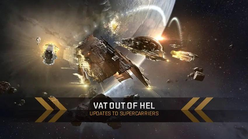 Vat Out of Hel Carrier Update in EVE Online