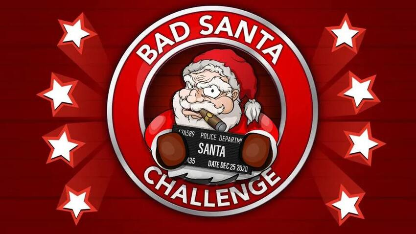 How to Complete the Bad Santa Challenge in BitLife