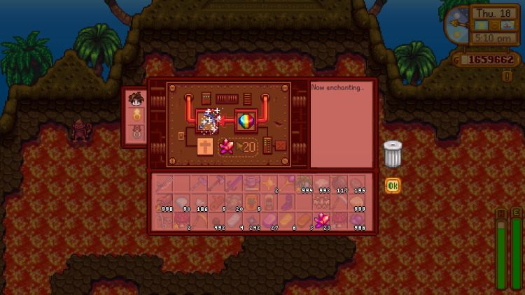 How to Forge and Enchant Items in Stardew Valley 1.5
