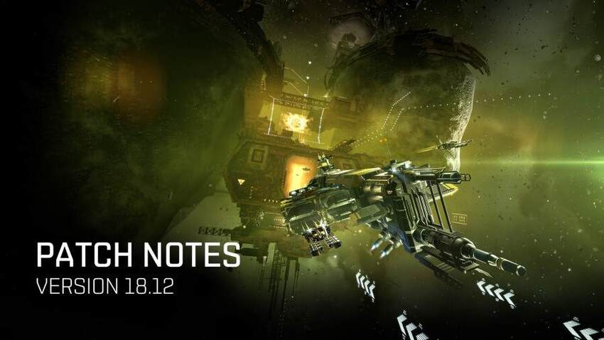 EVE Online Version 18.12 Patch Notes