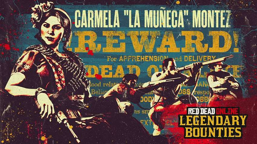 How to complete the Carmela Montez bounty in Red Dead Online