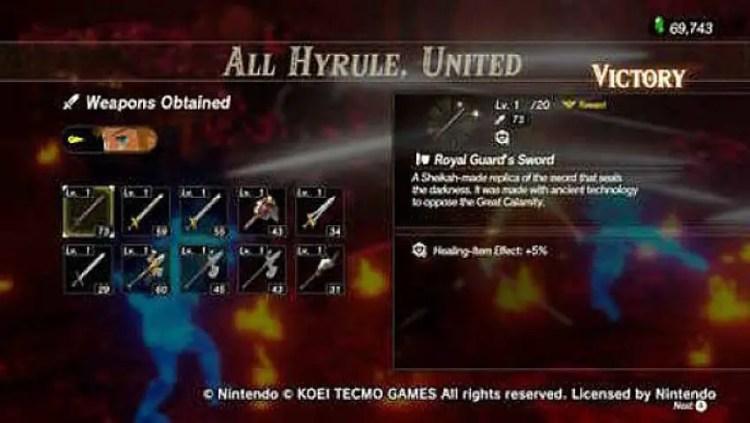Blood Moon Battlefields in Hyrule Warriors: Age of Calamity