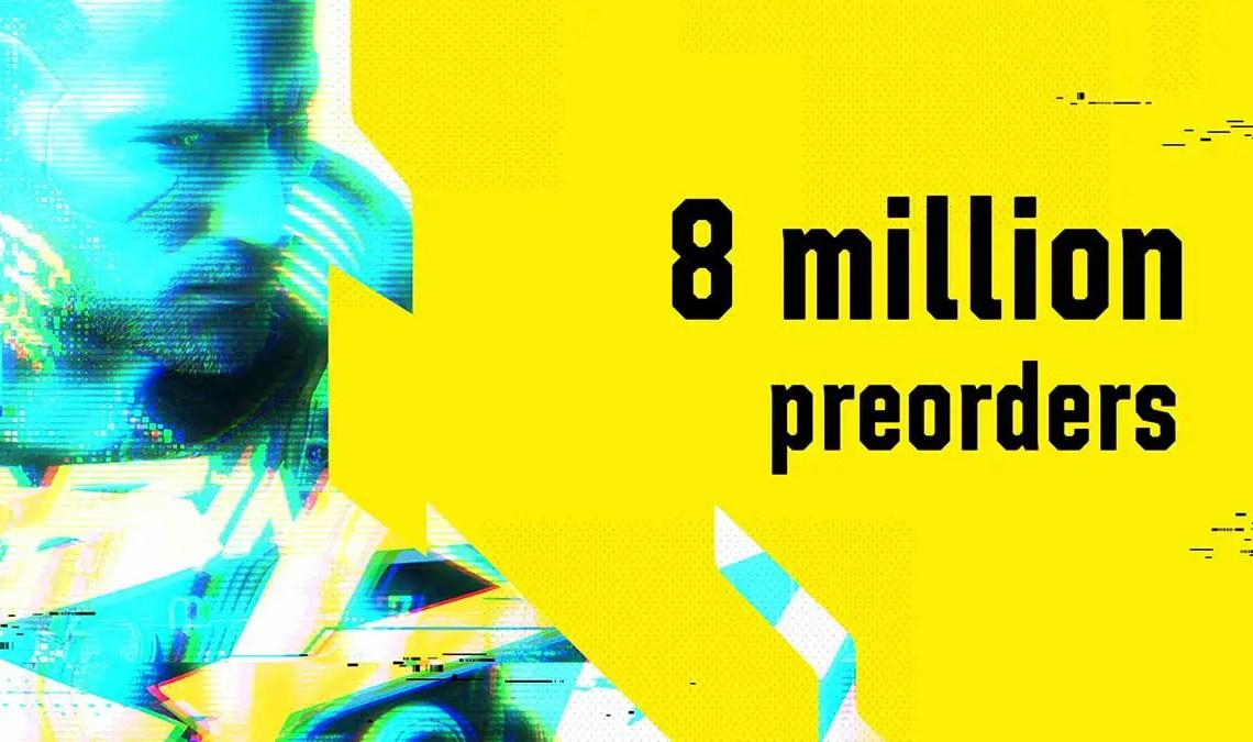 Cyberpunk 2077 sold 8 million copies already