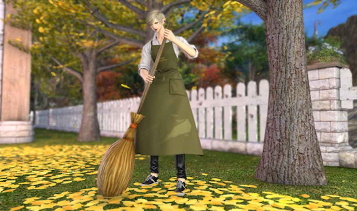 How to get the broom emote in Final Fantasy XIV