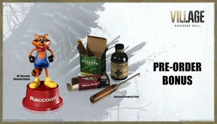 Resident Evil Village pre-order bonuses