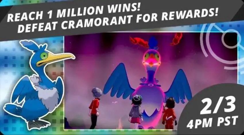 Cramorant Max Raid in Pokémon Sword & Shield Guide