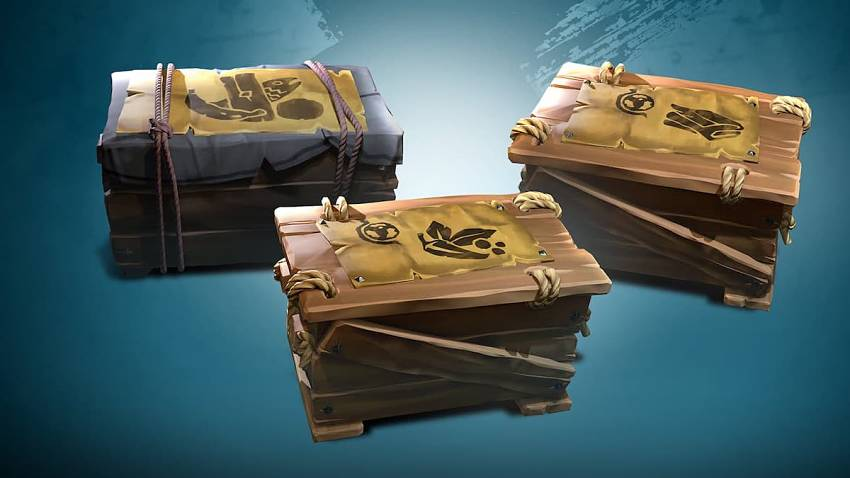 How Trade Routes and Crates work in Sea of Thieves