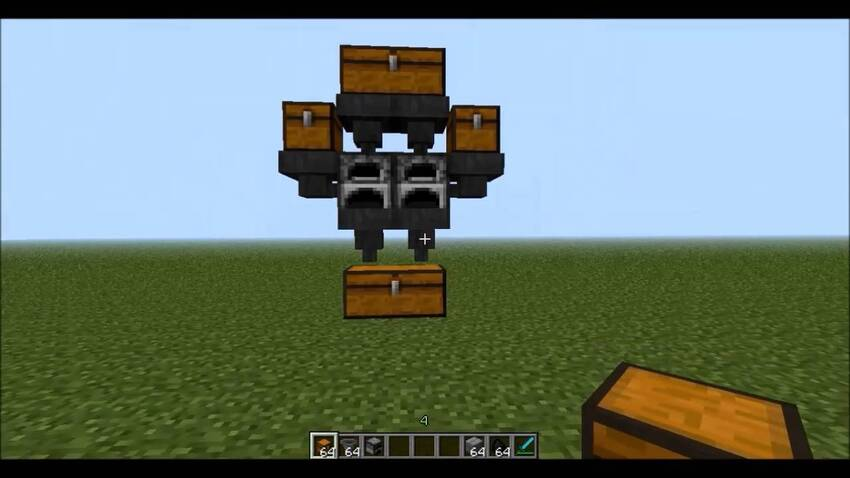 How to make an Auto Smelter in Minecraft