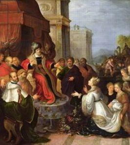 Solomon and Queen of Sheba