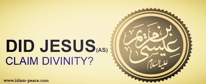 DID JESUS (Pbuh) CLAIM DIVINITY? Dr. Zakir Naik