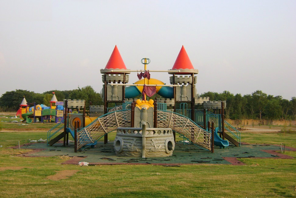 Play area at Fatima Jinnah Park in Islamabad