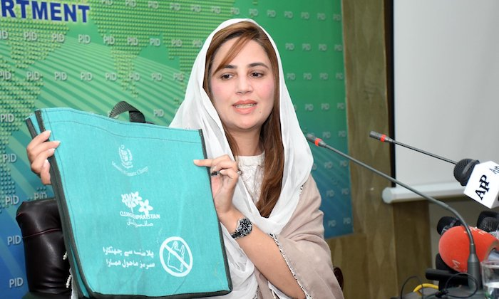Environment-friendly bags distributed at 30 kiosks in Islamabad