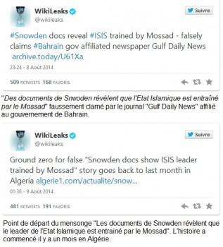 wikileaks snowden isis
