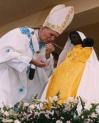 Mary Worship by Popes