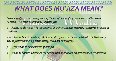 mu'jizas, tahaddi, prophet, Prophethood, mu'jiza