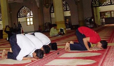 Prostration in Islam