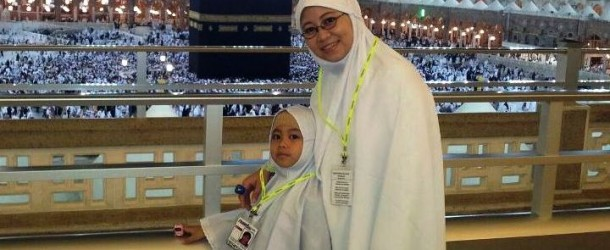 Protection and discipline of children  during Haj or Umrah