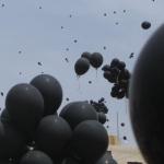 Photo of 21,915 Black Balloons Darken Israeli Skies