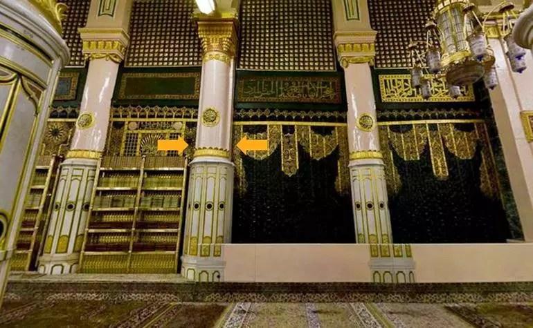 Pillars of Masjid-e-Nabwi: 5. Ustuwaanah Ali