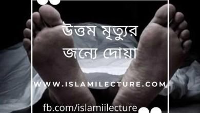 Photo of উত্তম মৃত্যুর জন্যে দোয়া