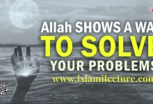 IF YOU ARE SAD, Allah SAYS THIS TO YOU - Islami Lecture