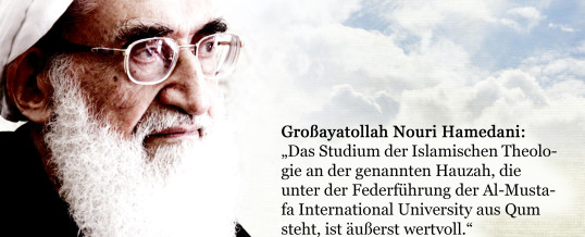 Studium an der IAD: Meinung Großayatollah Nouri Hamedanis