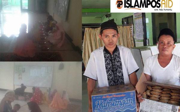IslamposAid Berbagi Ta'jil di Masjid Nurul Iman, Barru dan Masjid Al- Muzammil, Makassar 1