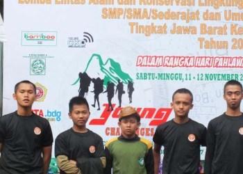 SMK Peternakan Juara Subang Raih Juara 1 Lomba Lintas Alam Tingkat Jabar 1