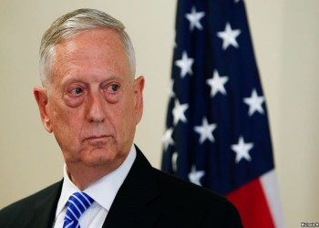 Menteri Pertahanan Amerika Serikat (AS) James Mattis,  Foto: Reteurs