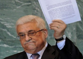 Presiden Palestina, Mahmoud Abbas  Foto: Middle East