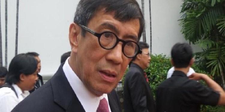 Menteri Hukum dan Hak Asasi Manusia Yasona Laoly. Foto: WartaKota