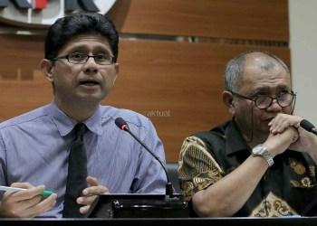 Wakil ketua umum KPK, Laode syarif  Foto: Aktual