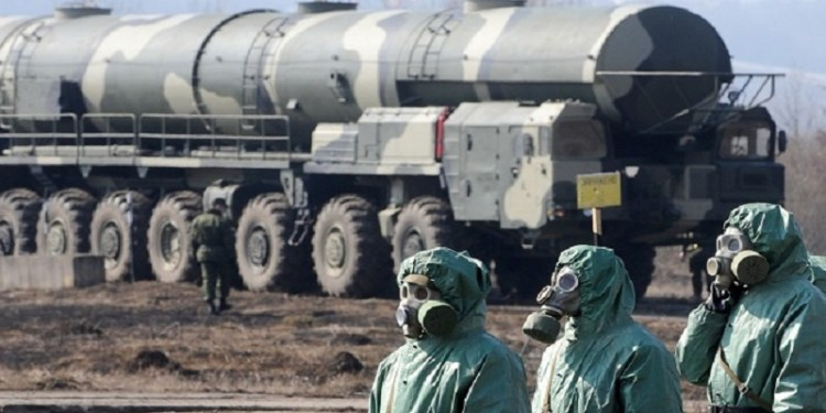 Senjata Kimia  Foto: International News