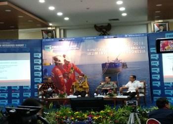 "Forum Merdeka Barat 9 (FMB 9) dengan topik ""Perpres 20/2018: Kepastian Izin TKA dan Perbaikan Iklim Investasi di Indonesia"", bertempat di Ruang Serba Guna Kementerian Kominfo, Jakarta. Foto: Rhio/Islampos"