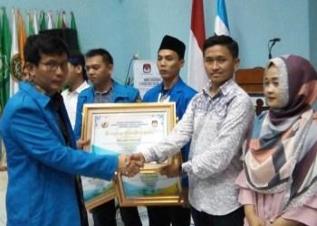 Gerakan Pemuda Islam Indonesia Jawa Barat (PW GPII Jabar menjadi Duta Pemuda Demokrasi Anti-Golput untuk Pilgub Jabar 2018. Foto: Rhio