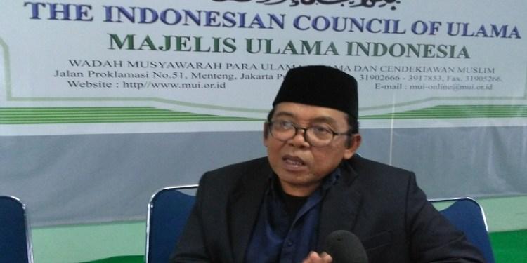 Ketua Majelis Ulama Indonesia (MUI) Bidang Informasi dan Komunikasi Masduki Baidlowi. Foto: Rhio/Islampos