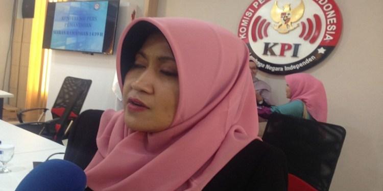 Komisioner Komisi Penyiaran Indonesia (KPI) Pusat Nuning Rodiyah. Foto: Tommy/Islampos