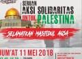 Bela Palestina, Ratusan Pemuda Makassar Segera Gelar Aksi 'Bebaskan Masjidil Aqsa' 1