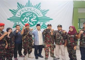 (Diklatsar) Komando Kesiapsiagaan Angkatan Muda Muhammadiyah (KOKAM) di Islamic Center Muhammadiyah Cipanas, Cianjur, Jawa Barat, pada hari Jum'at hingga Ahad (24-26/8/2018). Foto: Istimewa
