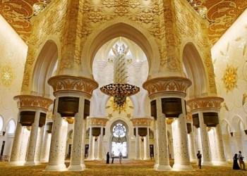 Masjid Agung Sheikh Zayed Abu Dhabi. Foto: Steemit