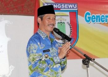 Bupati Pringsewu Sujadi. Foto: Lampungpost