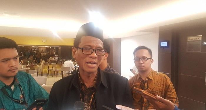 Kepala Badan Penyelenggaraan Jaminan Produk Halal (BPJPH) Sukoso. Foto: Rhio/Islampos