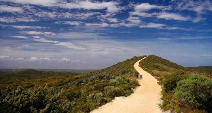 jalan gunung langit