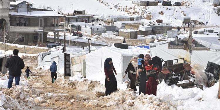 Pengungsi Suriah di Lebanon. Foto: Anadolu