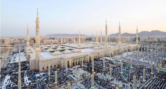 Masjid Nabawi. Foto: Albalad