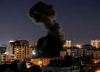 Tentara Israel membombardir Gaza. Foto: PIC