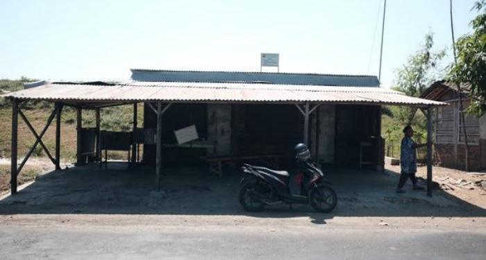 Kedai olahan daging anjing di Jalan Lalung-Bekonang, Karanganyar. Foto: Solopos