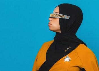 Blair Imani dalam kostum cosplay. Foto: Today