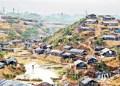 kamp pengunsi rohingya di Bangadesh. Foto:  en.prothomalo